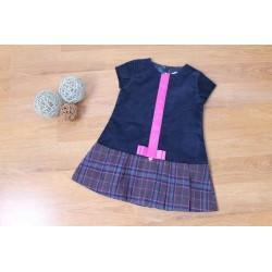 Vestido de niña manga corta
