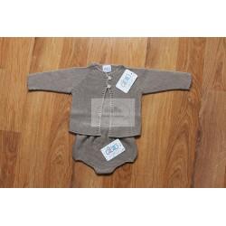 Conjunto chaqueta + braga